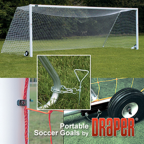 Soccer Goals For Sale >> Soccer Goal Aluminum Portable Youth 12 X 6 6 With Nets